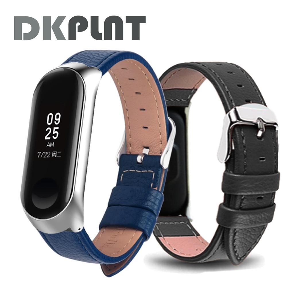 Watch band for Xiaomi Mi Band 6 Strap watch Leather wrist strap For xiaomi mi band 4 accessories bracelet Miband5 3 Strap