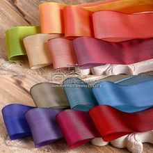 100yards 25/38mm double face color fantasy korean ribbon for wedding party decoration hair bow accessories craft supplies