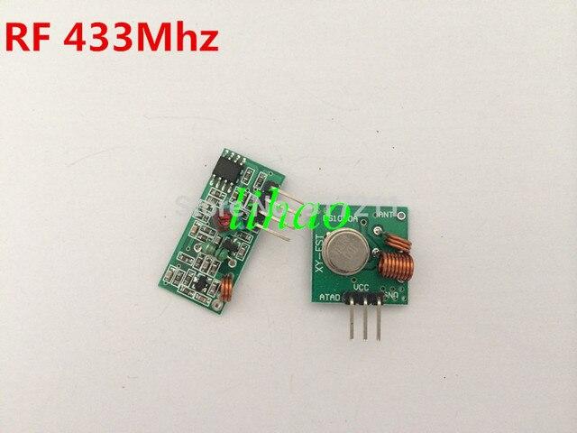 RF wireless receiver module & transmitter module board for arduino super regeneration 315/433MHZ DC5V (ASK /OOK) 10pair =20pcs