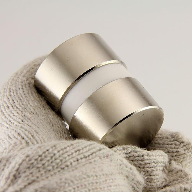 2 pcs Dia 40mm x 20mm néodyme aimant 40x20mm pull force 65 kg disque aimant rare earth aimants NdFeB super puissant