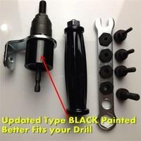 1000pcs Rivet Nut Kits M4 M10 Rivet Nut Adaptor Cordless Drill Adaptor Riveting Tools Rivet Nut