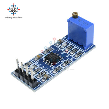 LM358 100 Gain Signal amplification module Operational Amplifier DC5-12V NEW image