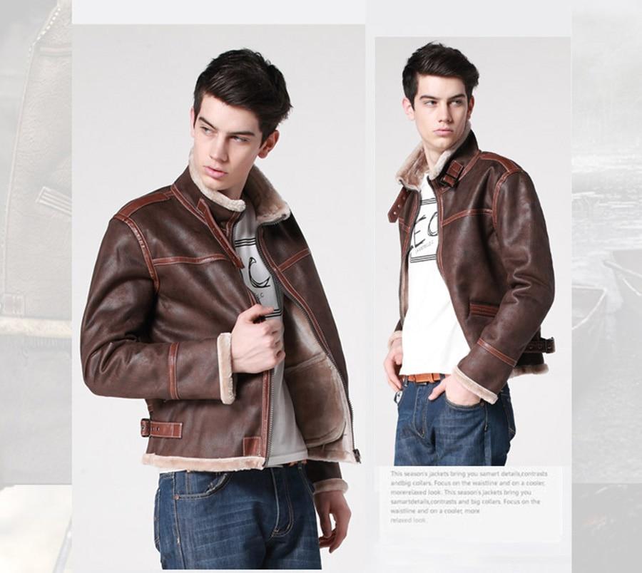 Biohazard Resident 4 Leon S Kennedy Evil Costume Leather Coat Jacket Cosplay PU Faur Jacket Long sleeve Winter Outerwear Men Boy - 4