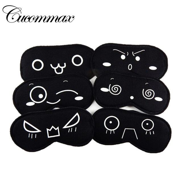 Cucommax Спальные Маска Для Глаз Черный Глаз Тень Сна Маска Черная Маска Повязку на Глаза для Sleeping-MSK09