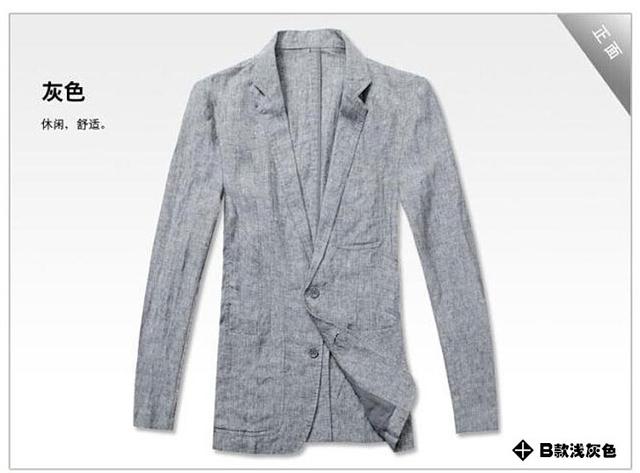 Única fivela slim fit homens blazer terno casaco de linho cáqui verão jaqueta masculina novo design ternos homem blazers de moda para homens