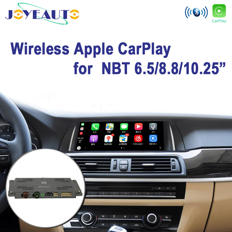 Joyeauto WI-FI Sem Fio Apple Carplay Retrofit 1 2 3 4 5 7 série X1 X3 X4 X5 X6 MINI NBT f10 F15 F16 F20 F30 F48 13-17 para BMW