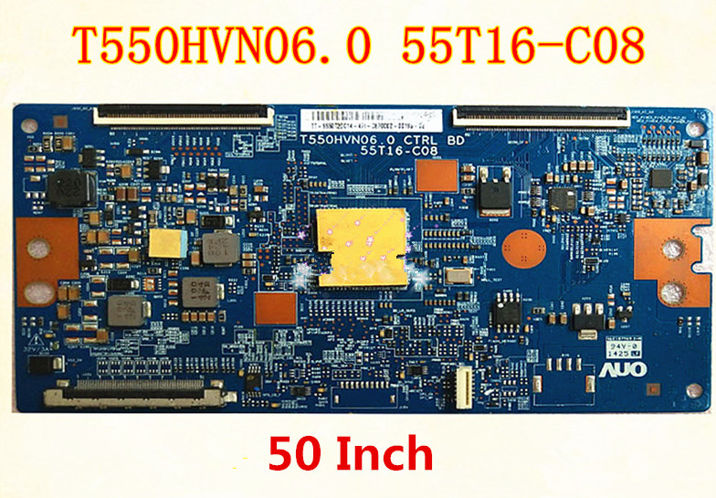 US $30 89  For T550HVN06 0 55T16 C08 T Con logic board AUO 50 Inch Sony  Changhong Hisense TV Small Board T Con Logic Plate Bar-in Computer Cables &