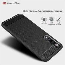 Чехол из углеродного волокна для Xiao mi 9 SE mi 8 Lite A1 5X A2 6X Red mi Note 7 pro 4 4X5 Plus 5A 6 6A S2 Go мягкий чехол из ТПУ Pocophone F1