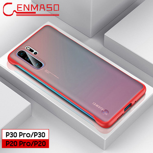 Image 5 - P30 Pro case for Huawei P30 P20 Lite 2019 mate 10 20 x back cover For Honor 8X 9X V20 20 pro P smart plus 2019 Frameless case