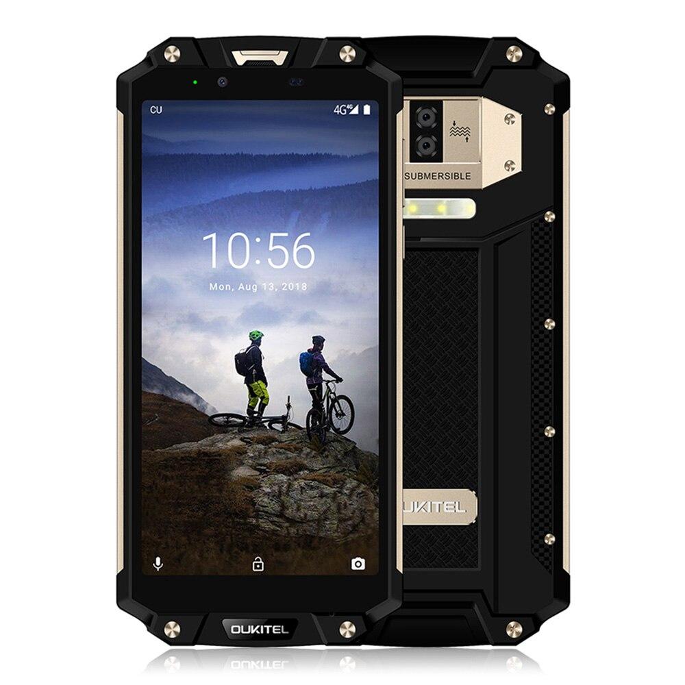 OUKITEL WP2 4g Android 8.0 Smartphone 6.0 pouce Phablet MT6750T 4 gb RAM 64 gb ROM NFC Étanche Antichoc 10000 mah Téléphone Portable