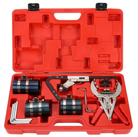 EVERPOWER Piston Ring Service Tool Set Auto Engine Motor Cleaning Ring Expander Compressor WT04A1003EVERPOWER Piston Ring Service Tool Set Auto Engine Motor Cleaning Ring Expander Compressor WT04A1003