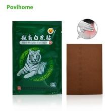 32Pcs Vietnam White Tiger Balm Medical Plaster Pain Relief Patch Body Neck Stress Relief Arthritis Joint Capsicum Plaster D1761 цена