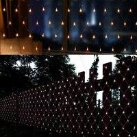 1920 светодиодный s 8 м * 10 м светодиодный чистый свет, рождественский Декоративные Фея огни строки для дома и сада Свадьба Рождество вечерние В