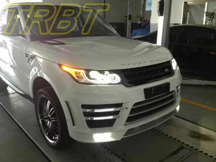 Range Rover Sports Body Kit PP Plastic Front Bumper Rear Bumper Case For Land Rover 2014 ...
