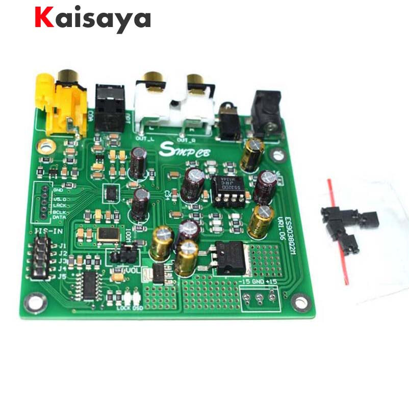 ES9038 Q2M DAC DSD Decoder Support IIS DSD 384KHz Coaxial Fiber DOP For hifi amplifier audio