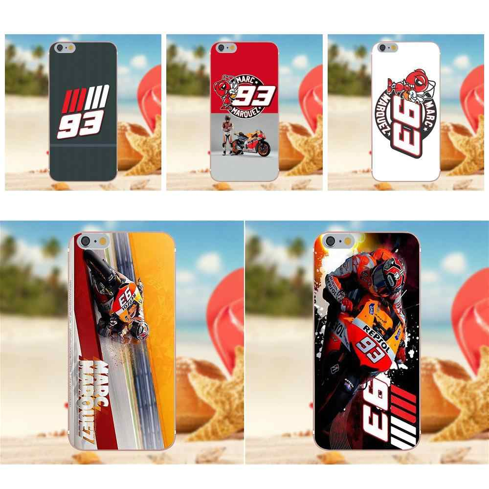 Marc Marquez Moto Gp 93 Cell Phone Cover Iphone X 8 7 6 4 4S 5