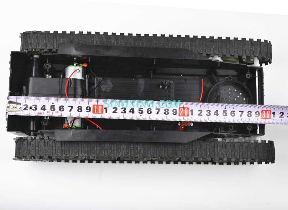 Amortiguador de equilibrio tanque Robot chasis plataforma de alta potencia Control remoto DIY crawle SINONING big SN4300