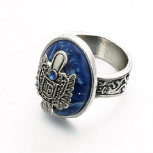Newest Arrivals Ring The Vampire Diaries Vintage Damon/Stefan Salvatore Sun Family Crest Rings Holiday DIY Decorations(China)