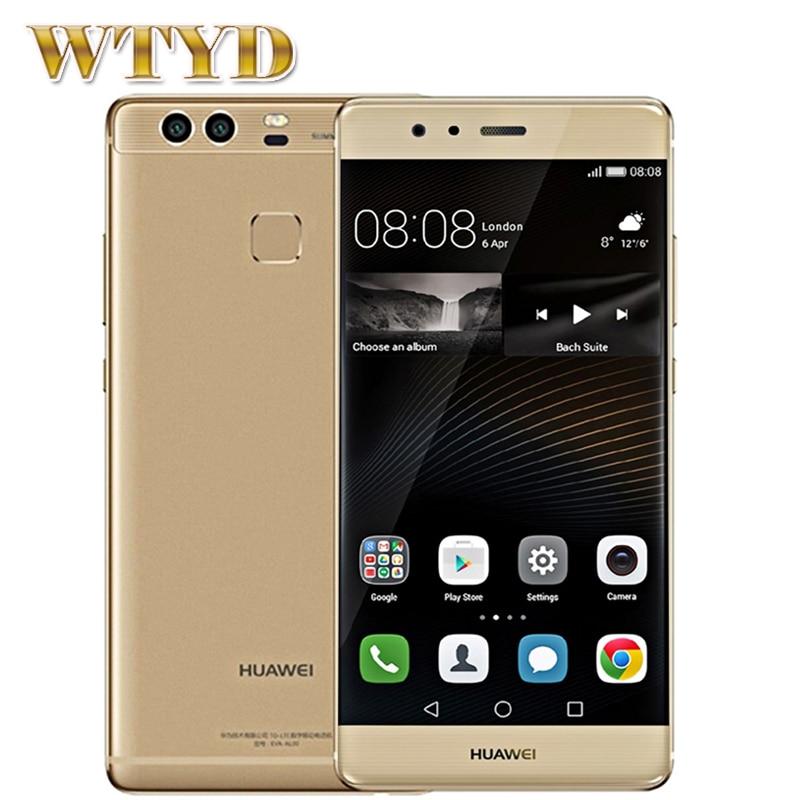 For Huawei P9 Plus VIE-AL10 ROM 128GB+RAM 4GB Dual Back Cameras 5.5'' EMUI 4.1 Kirin 955 Octa Core 2.5GHz + 1.8GHz 4G LTE