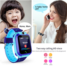 LIGE 2019 New Waterproof Children Watch SOS Emergency Call LBS Secure Base Station Positioning Tracking Childrens smart watch