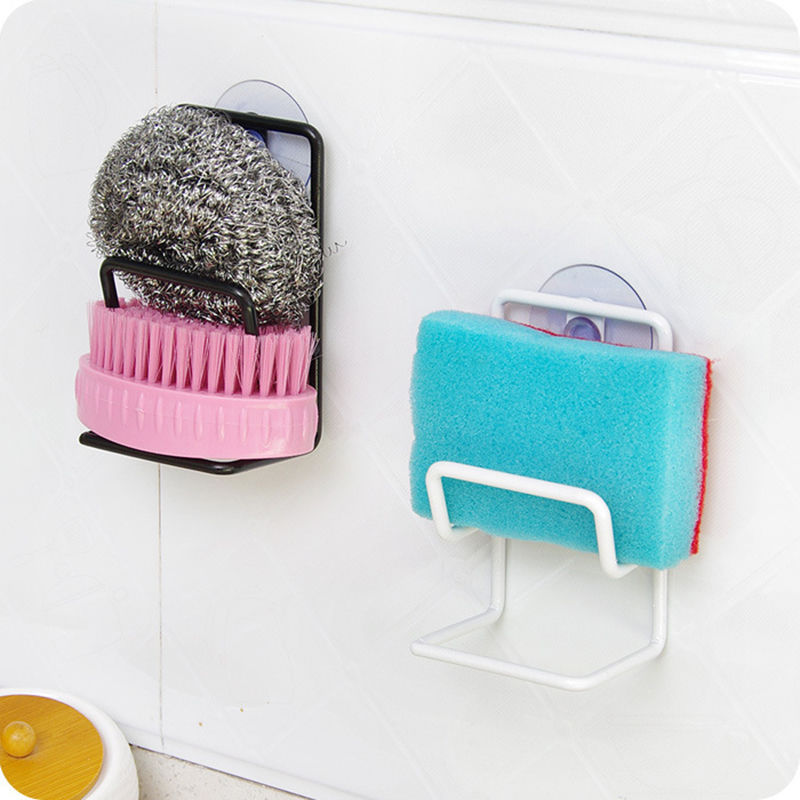 Tidy Organizer Rack Kitchen Tool Bathroom Sink Caddy Storage Holder Suction Cup-in Storage