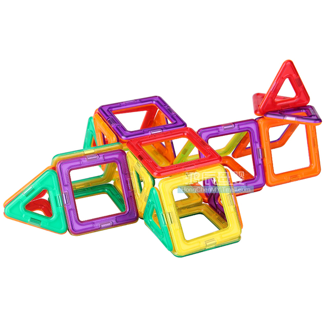 Magnetic Building Pieces (62 Awesome Pieces)