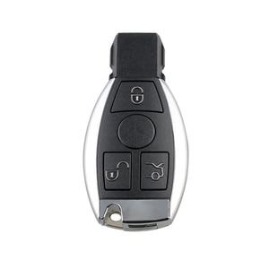Image 4 - Dzanken3 Buttons Remote Car Key 433Mhz for Mercedes Benz Year 2000+& Transponder Chip& Uncut Blade