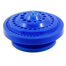 WSFS Hot Sale Round Shape Plastic Hard Drill Bit Storage Case – Blue