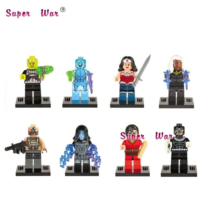 8pcs star wars super heroes marvel avengers Supergirl Punisher Doctor Strange building blocks bricks toys for children