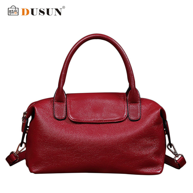 DUSUN New Handbag Fashion Retro Women Bags Brand Design High Quality Luxury Handbags Women Bags Messenger Bags bolsa feminina