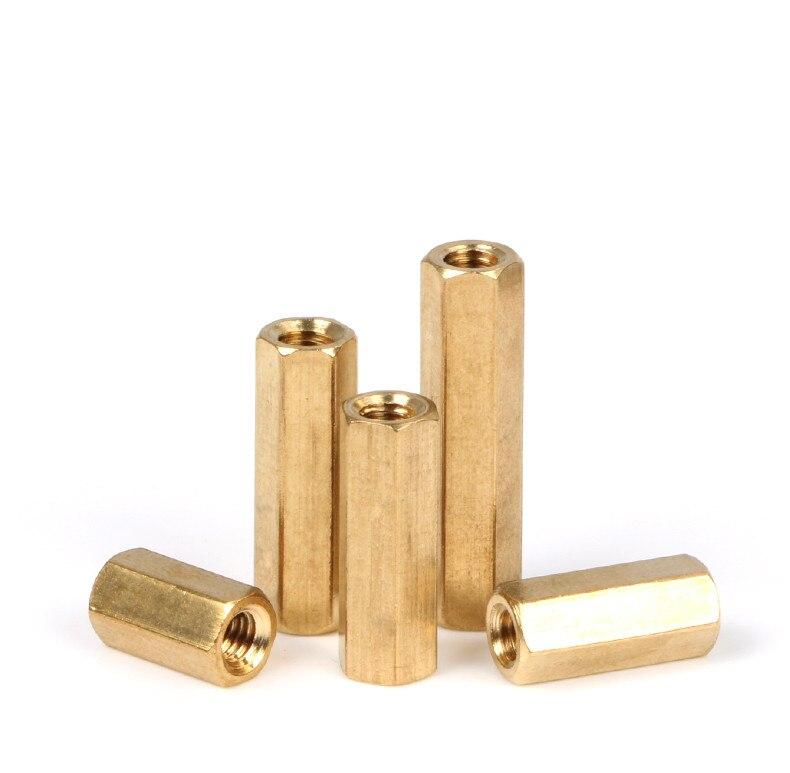25 pcs M2 Female x M2 Female Brass Standoff Spacer 9mm