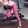 Sweatpants woman fitness tight summer pants capri colored ladies exercise ACTIVE pants elastic pantalon femme