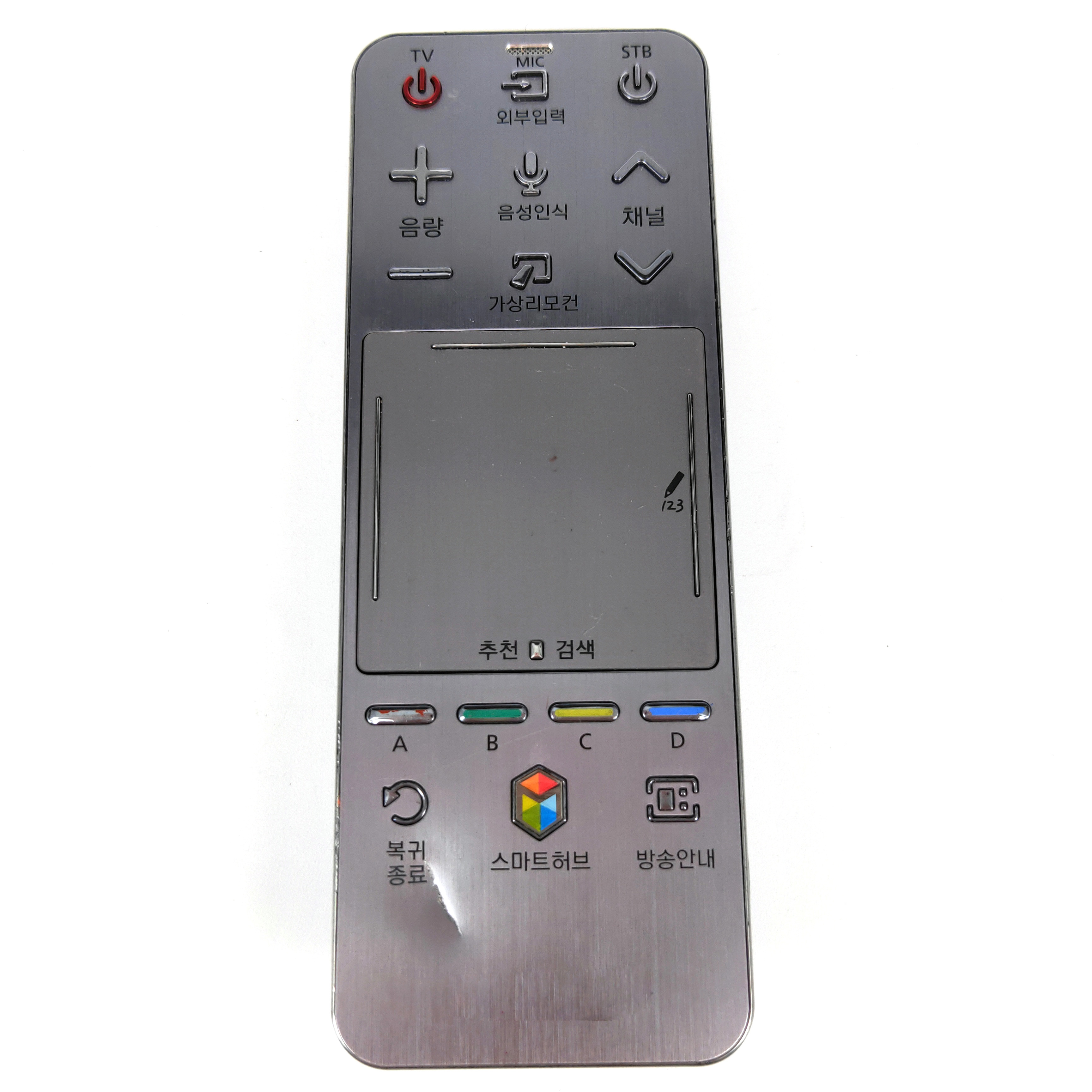 USED 90%NEW Original AA59-00757B FOR Samsung smart touch Remote control for Korean TV FernbedienungUSED 90%NEW Original AA59-00757B FOR Samsung smart touch Remote control for Korean TV Fernbedienung