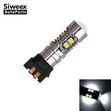 1 Pcs PW24W PWY24W Auto Car LED Light 10 SMD 2323 Bulbs Lens White Lamp Lights 12V DC