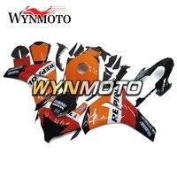 Full Red Orange Black Fairings For Honda CBR1000RR 2008 2011 Year ABS Injection Plastics 08 09 10 11 Bodywork Motorcycle Cowling