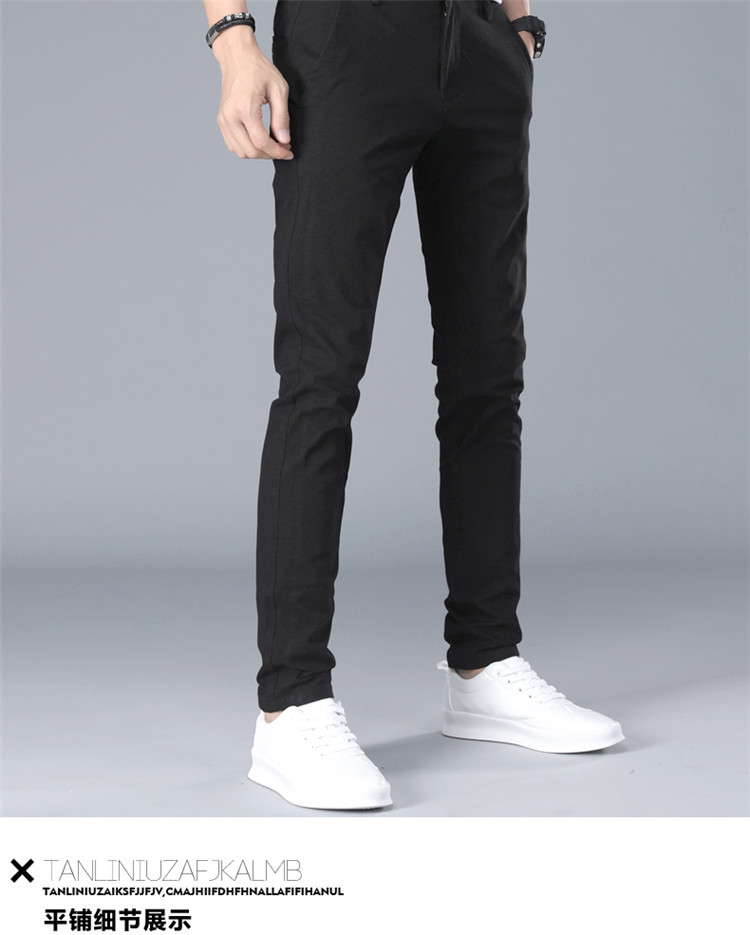 HTB1QdpgboLrK1Rjy1zbq6AenFXas Brand Men Pants Casual Mens Business Male Trousers Classics Mid weight Straight Full Length Fashion breathing Pant
