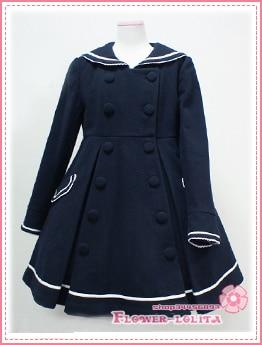 Aliexpress.com : Buy Hot Sale Cute Wool Hooded Sailor Lolita Coat ...