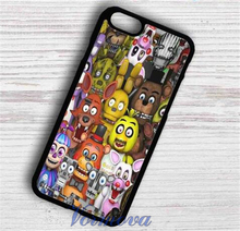 Пять Ночей в Freddys мода телефон Обложка Case для Samsung galaxy S3 S4 S5 S6 S7 S7 S6 край край Примечание 3 Примечание 4 Примечание 5 и xx10