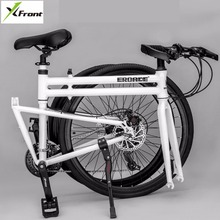 New Brand Folding Bike Aluminum Alloy Frame 26 inch Wheel 24/27 Speed Dual Disc Brake Road Bicycle Bicicleta