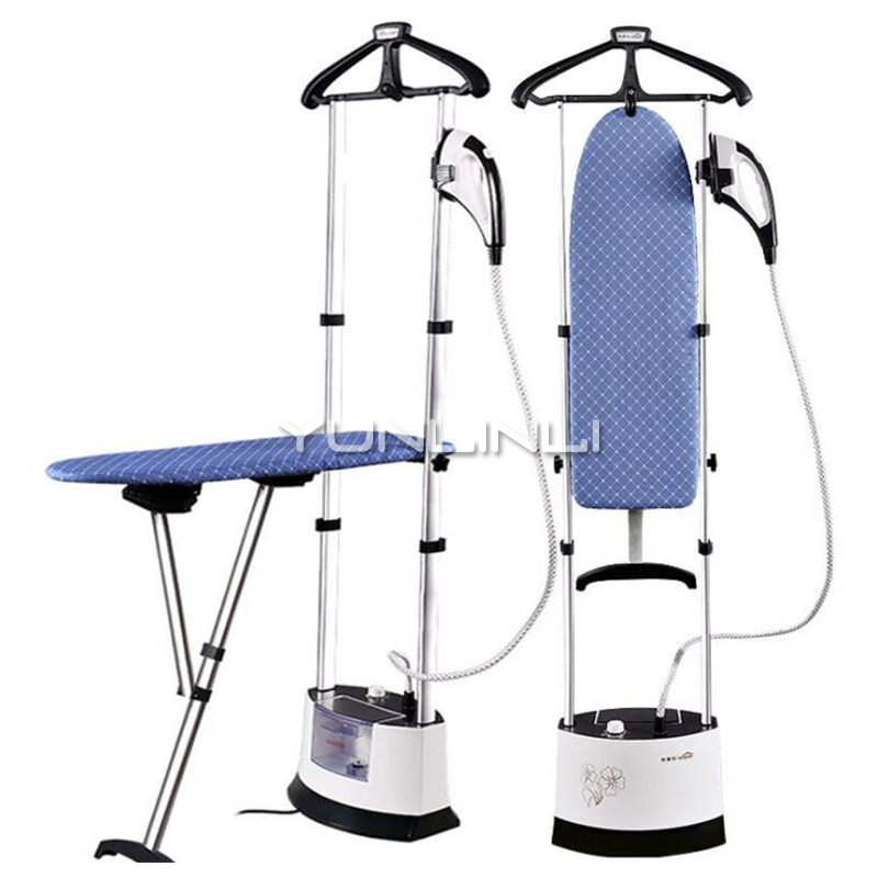 Household Garment Steamer 1.6L Handheld Clothes Steamer Vertical Steam Ironing Machine LS-708D russia only 2000w garment steamer household handheld ironing machine 10 gear adjustable vertical flat steam iron clothes steamer