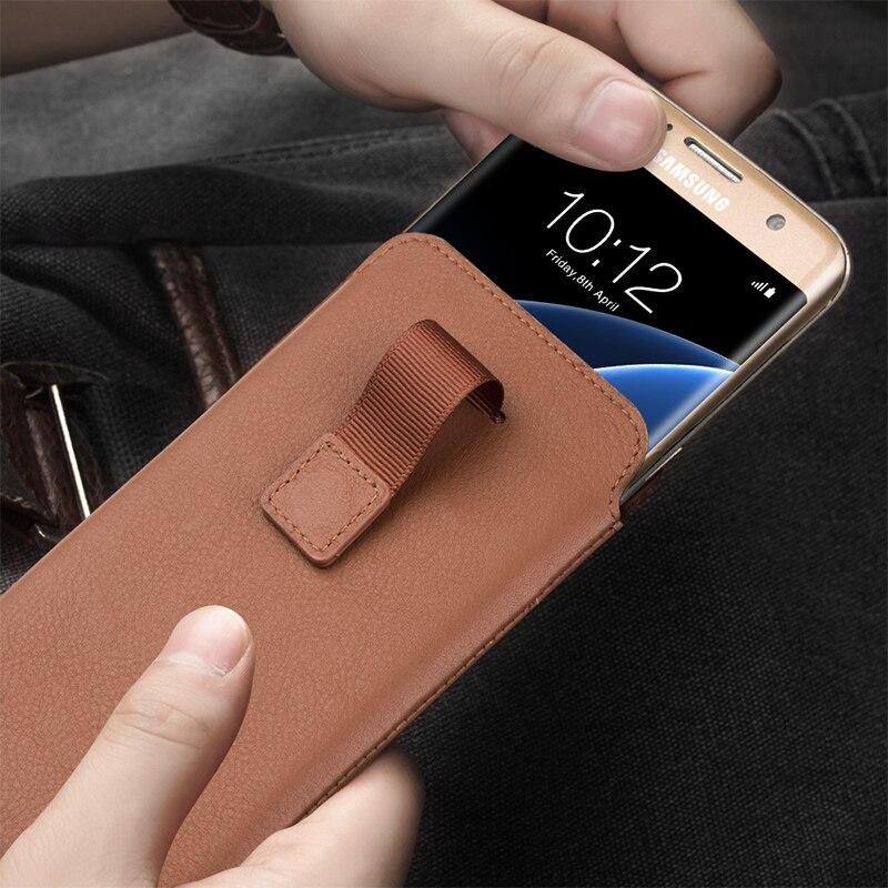 Цена за Qialino чехол для Samsung Galaxy S8 плюс кошелек сумка натуральная кожа чехол для Samsung S7 края кожи с карт памяти 5.5 дюймов