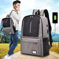 USB Charging Organizer Backpack Anti Theft Backpack Men Travel Waterproof School Bags for College Teenager Laptop Backpack