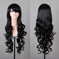 HAIRJOY  Popular 80cm Long Black Wavy Synthetic Natural Women's Lolita Costume Wig