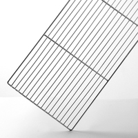 Hot Sale Stainless Steel Barbecue Mesh Rectangular Household Barbecue Mesh Cooling Heat Resistance Frame Baking Dining BBQ Tools