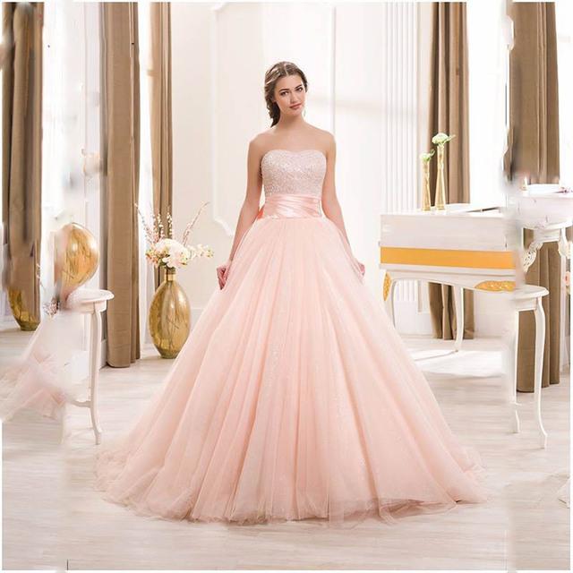 Baratos Rosa Vestidos Quinceanera 2016 Pérola Frisado Tule Vestidos de Baile vestido de Arco Barato Vestido Quinceanera Debutante Vestido customize