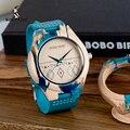 Мужские часы BOBO BIRD, специальный дизайн, деревянные кварцевые часы из смолы с корпусом, с логотипом