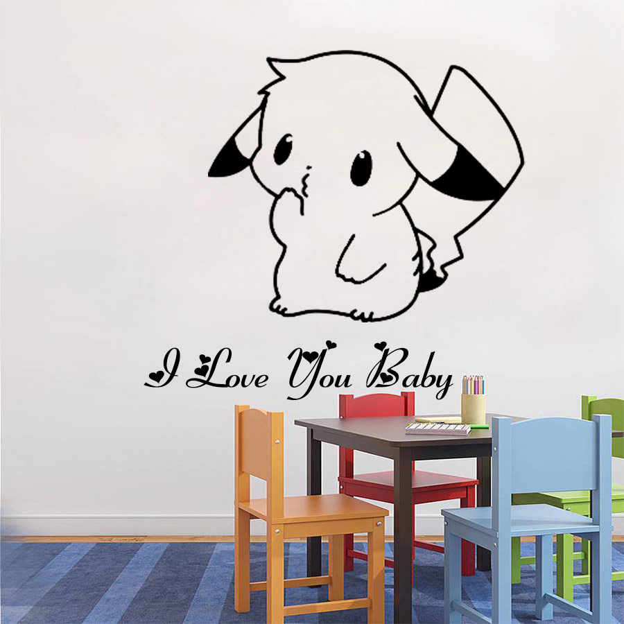 3D Pokemon Wall Decals U2013 Limited Edition Part 36