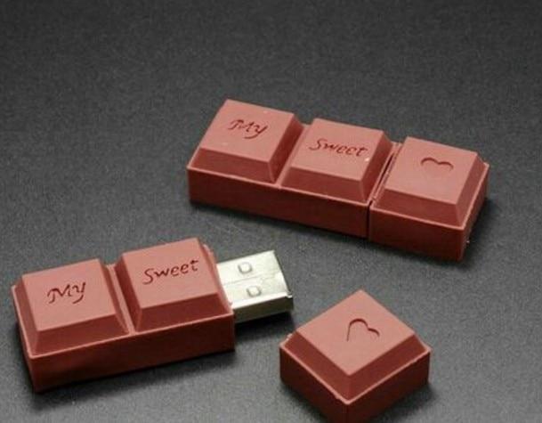 Chocolate usb flash pen drive cartoon usb stick 128gb 64gb 32gb 16gb 8gb 4gb usb memory pendrive usb flash disk