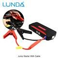 Lunda 12 v multi-función de salto de arranque del coche 4usb salida 2.0a cargador portátil banco de la energía del teléfono móvil