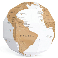Develop Intelligence 3D Jigsaw Puzzle Earth Toy Three Dimensional Map Of The World The Picture Layer